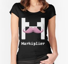 """Markiplier"" T-Shirts & Hoodies by Flutterbymilk 