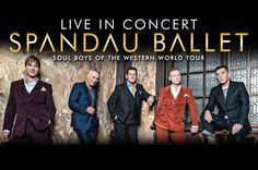 Spandau Ballet. Soul Boys of the Western World Tour. Jan 25 2015. The Wiltern Theatre. Los Angeles, CA