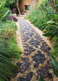 Unique Garden Paths   25 Unique Backyard Landscaping Ideas and Garden Path Designs with ...