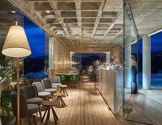 Bar/Piscina/Galeria BCMF ArquitetosMach Arquitetos