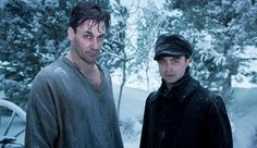 A Young Doctors Notebook Trailer and first photos with Jon Hamm and Daniel Radcliffe