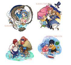 FT x Ghibli by blanania.deviantart.com on @DeviantArt