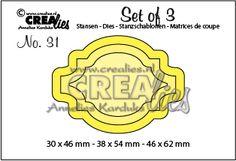 Crealies Set of 3 dies no. 31: https://www.crealies.nl/detail/1405593/set-of-3-stansen-no-31-labels-.htm