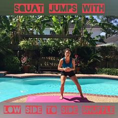 #cardio jump #squat circuit from Body Compass Discovery