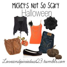 """""""Mickey's Not So Scary Halloween"""" by loveandpixiedust ❤ liked on Polyvore featuring AllSaints, Hollister Co., Wet Seal, Dorothy Perkins, Anniel, Miss Selfridge, Juicy Couture, Crate and Barrel, disney and disneyland"""