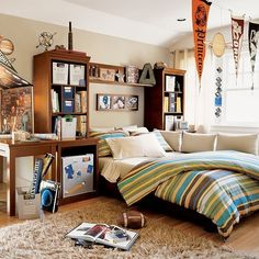 nooshloves: 12 teen boy rooms for inspiration