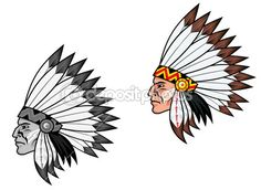 Indigenous — Stock Illustration #6182782