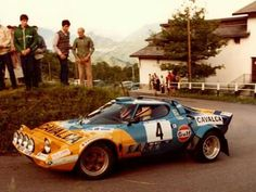 Lancia Stratos Biasuzzi Bonenti Rally ACI Varese Sports Car Racing, Sport Cars, Race Cars, Rally Raid, Motosport, Automotive Photography, Indy Cars, Vintage Racing, Car Photos