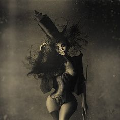 Creepy Digital Art by Anja Millen