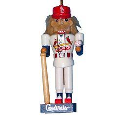 Kurt Adler 5-Inch St. Louis Cardinals Baseball Player Nutcracker Ornament St. Louis Cardinals
