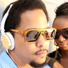 Bamboo Headphones made by SoleWood ($57.89)