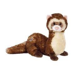 Webkinz Plush Stuffed Animal Ferret by Webkinz, Hehe this reminds me of an inside joke with my friend seth. :)