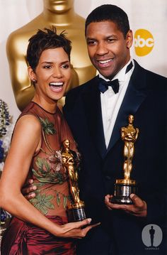 Denzel Washington and Halle Berry