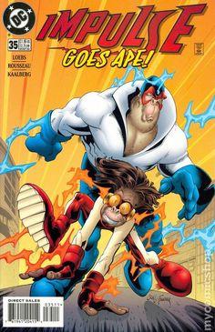 Impulse (1995) 35DC Comic Book cover Modern Age