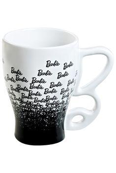 This Barbie mug is the perfect start to a doll-ightful day. 13 oz Ceramic Mug. $18
