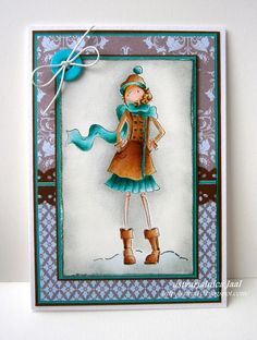 Stamping Bella, Uptown Girl - Quinn and her boots