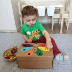 Pin on Kids Activities « Diy Best Garden Deko Preschool Learning Activities, Baby Learning, Infant Activities, Preschool Activities, Baby Sensory Play, Baby Play, Toddler Crafts, Kids And Parenting, Kids Playing