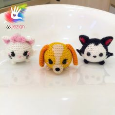 Tsum Tsum Tramp Lady and the Tramp Pattern