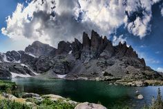 There is perhaps no more scenic pond in the country than Sky Pond, sitting tucked away at 10,900 feet above