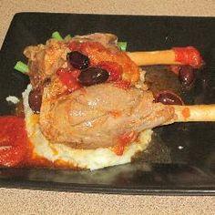 Mediterranean Slow-Cooked Lamb Shanks @ allrecipes.com.au