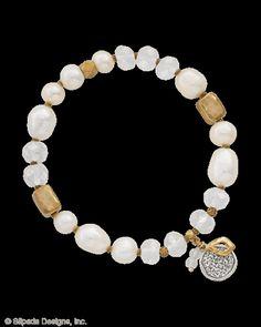 Down to Earth Stretch Bracelet, Bracelets - Silpada Designs