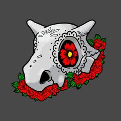 Awesome 'Day+of+the+dead+cubone' design on TeePublic!