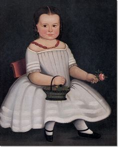 william kennedy painting | ... Kennedy - Girl In White Dress 1845 by William W Kennedy | Painting