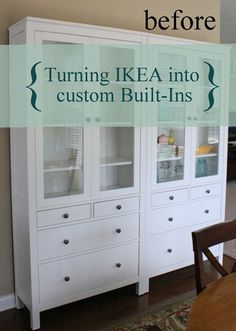 {A CHARMING NEST}: {Turning IKEA into Custom Built-Ins!} PART I