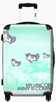 Suitcase Unicorns| Luggage - Suitcase | iKase.us | Ikase.us