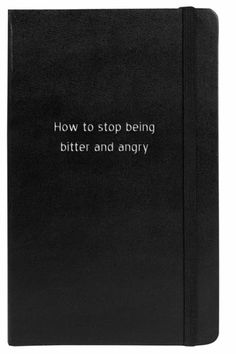 After you write it down you don't have to carry it around with you any longer.