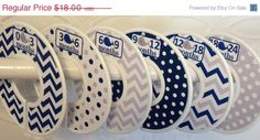 ON SALE 6 Custom Baby Closet Dividers - Navy Grey Nautical Whales - Baby Boy Shower Gift Nursery - Custom Nautical Baby Closet Organizers by GinaMarieOriginals on Etsy https://www.etsy.com/listing/204545492/on-sale-6-custom-baby-closet-dividers