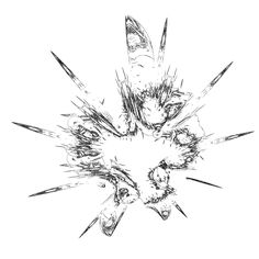 Used formula is with 3 polynoms having it's highest power up to 7 Fractals, Dandelion, Image, Dandelions