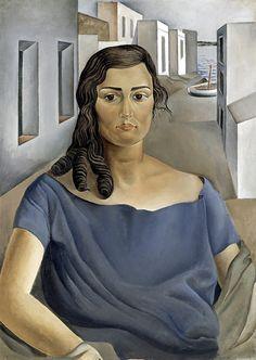 'Portrait of my Sister', 1925 - Salvador Dalí