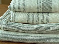 Bath Towel Cream Huckaback Linen Linum