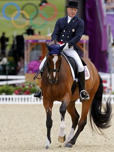 I love horse shows.  Ann Romney  co-owns horse, Rafalca, ridden by Jan Ebeling in the equestrian dressage at the London 2012 Olympic Games.