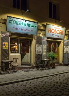 Once Upon a Time in Kazimierz, a little restaurant in the heart of Krakow's old Jewish ghetto, is better than most museums.