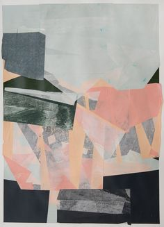 Jessica Bell. mixed media collage
