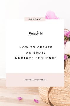 Listen to the podcast episode 16 and learn from Steph Taylor as she guides you how she creates an email nurture sequence in automation. Email Marketing Design, Email Marketing Campaign, Email Marketing Strategy, Email Design, Small Business Marketing, Business Tips, Online Marketing, Online Business, Digital Marketing