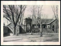 Press Photo 713 新闻老照片-受伤战士被抬入抗日野战医院 1938