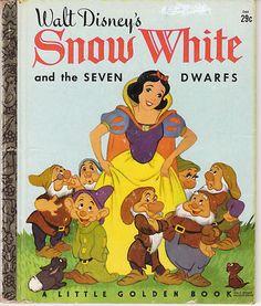 Walt Disney's Snow White and The Seven Dwarfs* Little Golden Book*