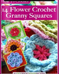 crochet books online free patterns granny square patterns flower