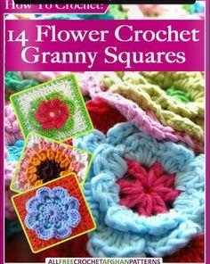 crochet books online free patterns granny square patterns flower