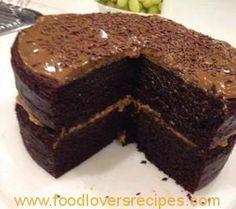 One Bowl Chocolate Cake Recipe, Best Chocolate Cake, Chocolate Cream, Baking Recipes, Cake Recipes, Dessert Recipes, Desserts, Chocolate Delight, Small Cake