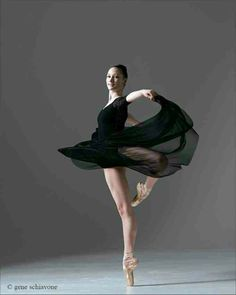 The Royal Ballet School's Hannah Stanford - Photo by Gene Schiavone