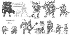 Arne - Retro gaming, concept art and ideas