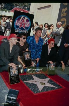 1993 Duran Duran's Star on the Hollywood Walk of Fame