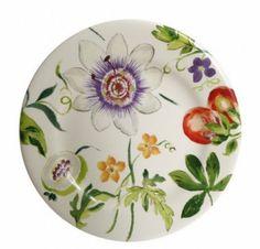 Passiflore - Porcelaine de Gien - 6 Assiettes dessert  Ø 21,8 cm   167,40 €