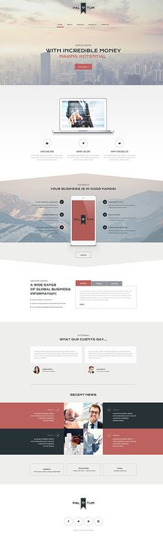 Template 55389 - Pal Tum Responsive Website Template