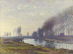 The Small Arm of the Seine at Argenteuil, 1872 by Claude Monet (1840-1926, France)