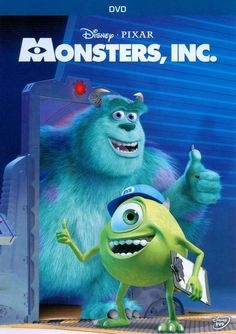 Shop Monsters, Inc. [DVD] at Best Buy. Disney Cars Toys, Disney Pixar Movies, Monsters Inc Dvd, Disney Blu Ray, Mike And Sully, Children's Films, Childhood Movies, Walt Disney Pictures, Cool Animations